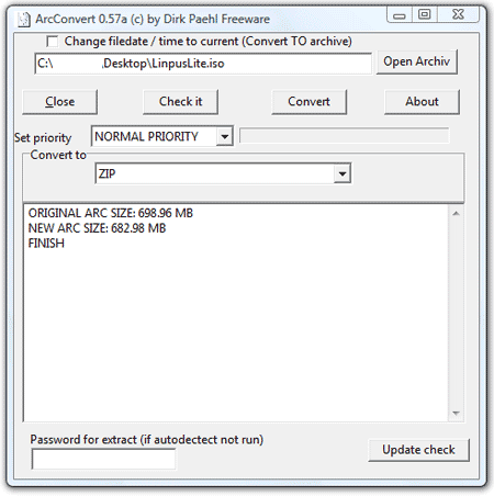 convert rar to zip converter