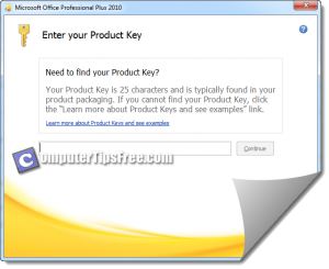 Change Microsoft Office 2010 Serial Number Keys