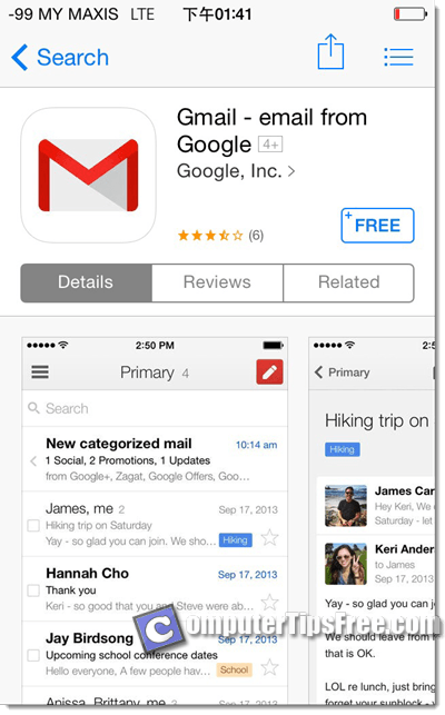 Download Gmail App for Android, iPhone, Mac, Windows 8 Gmail Login Mobile