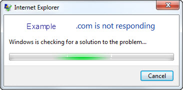 Fix: IE 9 Error - Internet Explorer has stopped working