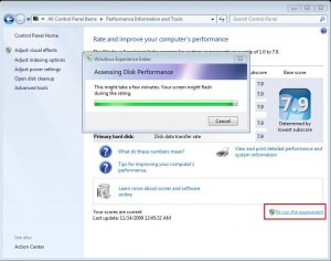 How to Change increase Windows Experience Index Rating in Windows 7 or Vista 3