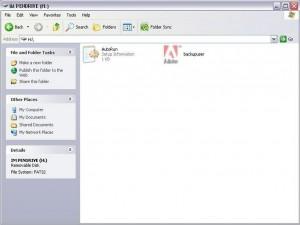 Backupuser.exe, iexplorer.exe, autorun.inf Virus Removal Tool