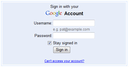 www.Gmail.com Sign In form new gmail account sign up