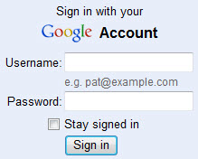 Screenshot from gmail.com login page
