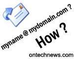 How to create Email Account on my own Domain Name