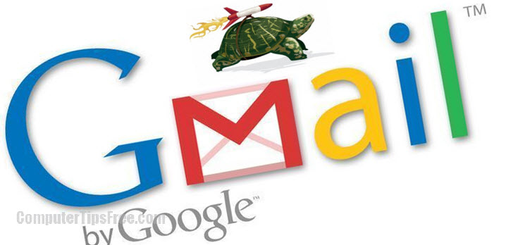 how to speed up gmail