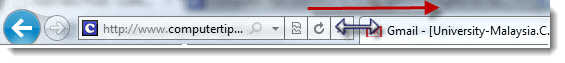 Internet Explorer 11/10 Address Bar Too Short Increase Size