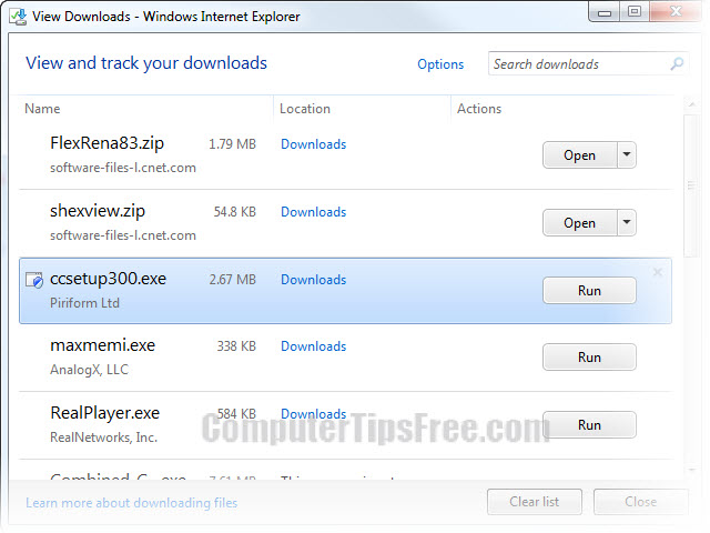 internet explorer 9 simultaneous downloads