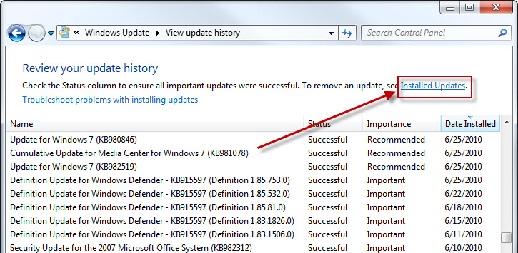 view-windows-update-history-in-xp-vista-and-7-delete-or-remove-5