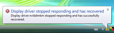 Fix: Display Driver Stopped Responding and Has Successfully Recovered – nvlddmkm nVidia atikmdag ATI